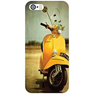 Apple iPhone 5S Scooter Matte Finish Phone Cover