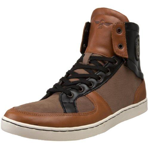 Creative Recreation Men's Solano High-Top Sneaker,Ash/Rust/Black,10.5 M US