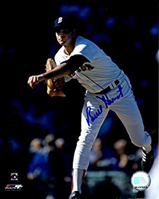 Autographed Bruce Hurst 8x10 Boston Red Sox Photo