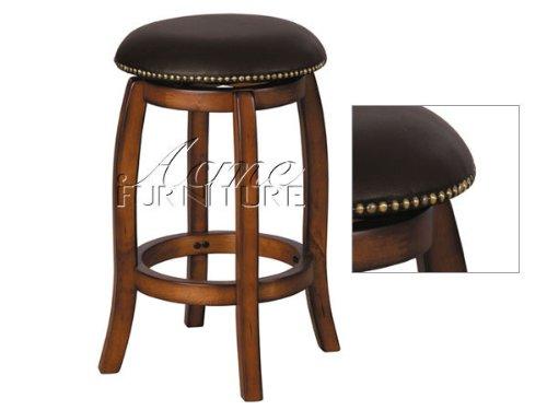 Acme Furniture 07247 Chelosea Swivel Counter Stool Oak