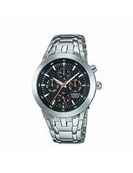 Casio Edifice Analog Black Dial Men's Watch EF-312D-1AVDF