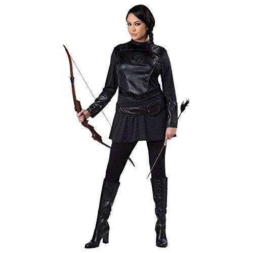 GSG Katniss Everdeen Costume Adult Hunger Games Halloween Fancy Dress (Katniss Everdeen Halloween Costumes)