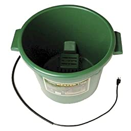Farm Innovators Model HT-200 16-Gallon Heated Tub with Replaceable Element, 200-Watt