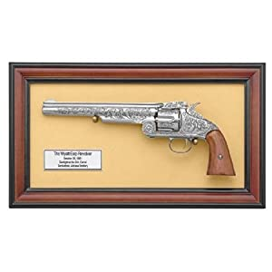 Wyatt Earp Schofield Revolver Replica With Frame Airsoft Pistols