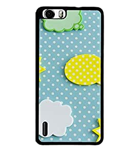 Fuson Premium 2D Back Case Cover Pattern With Multi Background Degined For Huawei Honor 6