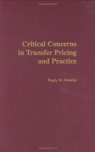 Critical Concerns in Transfer Pricing and Practice