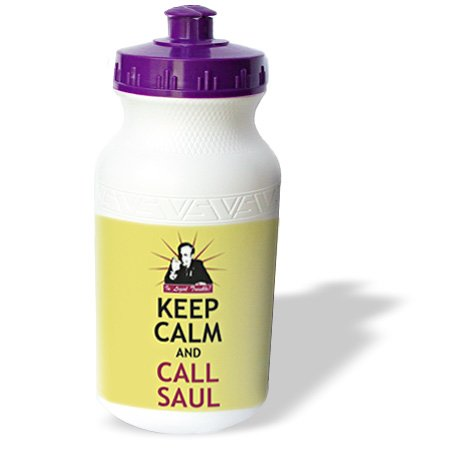 Wb_178674_1 Brooklynmeme Breakingbad - Keep Calm And Call Saul - Water Bottles
