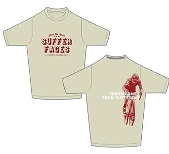 Bike Hugger Shirt: Suffer Faces (2XL)
