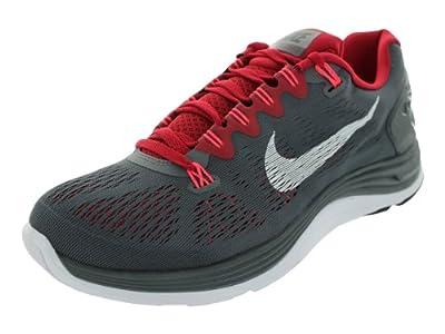 6d2df3061d501  Shopping Nike Men s Lunarglide+ 5 Dark Grey White Gym Rd Atmc Rd Running  Shoes 9 Men US