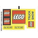 Lego Original Sticker Sheet For Town/City Set #10156 LEGO Truck