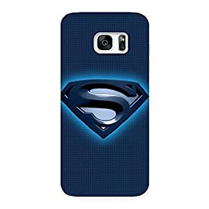 Gorgeous uper Blue Back Case Cover for Galaxy S7 Edge