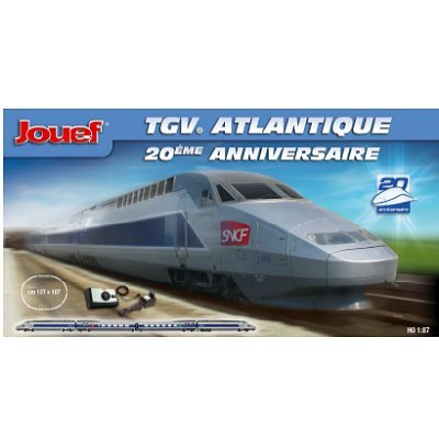 Jouef TGV Atlantique 20th Anniversary Train Set