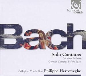 Bach : Cantates pour alto et pour basse (Coffret 3 CD)