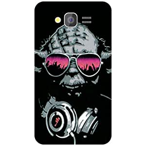 Samsung Galaxy Grand Back Cover - Glared Eyes Designer Cases