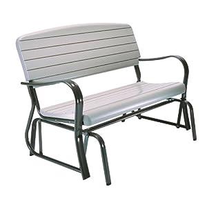 Amazon Com Lifetime 2871 Indoor Outdoor Glider Bench 4