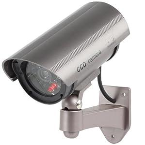 König SEC-DUMMYCAM30 Camera CCTV factice d'extérieur