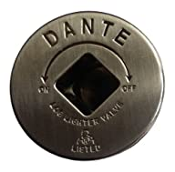 Dante Products FP.GV.PTR Pewter Floor Plate for Dante Globe Valve