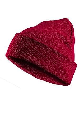 MasterDis Mütze Basic Flap Beanie, Farbe: magenta