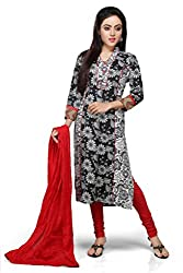 Vastra Vinod Floral Printed Long Kurta with Legging