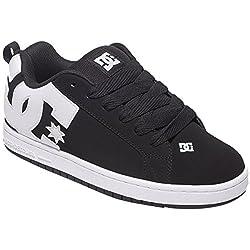 DC Women s Court Graffik Skate Shoe Black 7 D(M) US