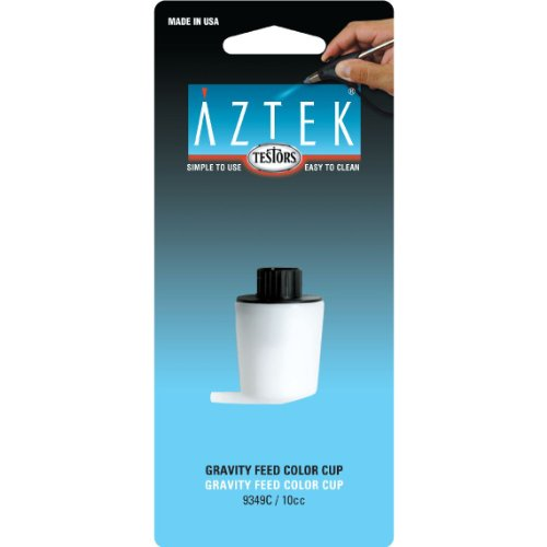 Aztek Gravity Feed Airbrush Color Cup, 10cc - 1