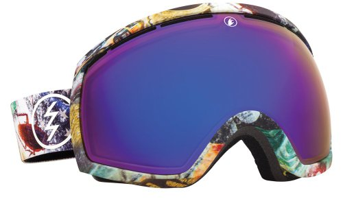 Electric Eg2 Snow Goggle, East Side, Bronze/Blue Chrome