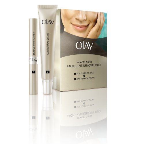 Buy Olay Smooth Finish Facial Hair Removal Duo 1 Kit