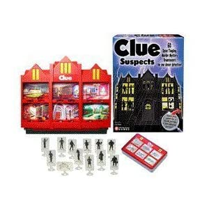 CLUE Suspects!
