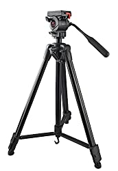 PowerPak Video-X7 Lightweight Portable Aluminium Tripod With Fluid Head For Video & DSLR Cameras Canon, Nikon Sony, Panasonic