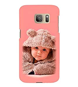 Vizagbeats Baby Rabbit Sweater Back Case Cover for Samsung Galaxy S7