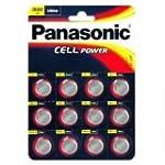 12 X Panasonic CR2032 Lithium Cell 3V...