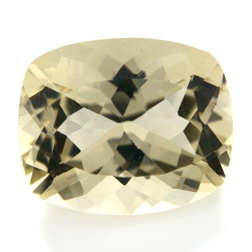 Natural Africa Yellow Labradorite Gemstone Cushion Cut 4.80cts 12*10mm Stunning