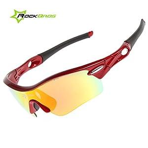 ROCKBROS Bike Polarisierte Fahrradbrillen Radfahren Sportbrillen Sonnenbrillen Goggles Sunglasses CS008