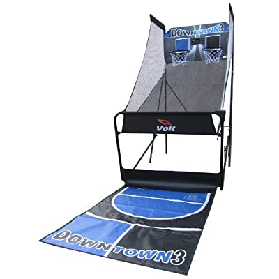 Voit 68100 Downtown-3 Indoor Basketball Arcade-Fashion Digital Hoops Recreation Game