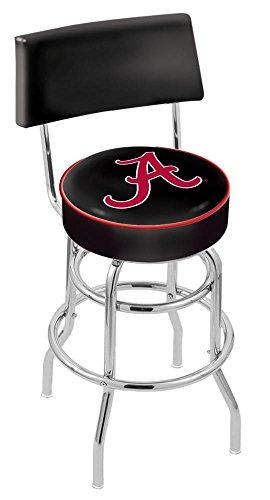 "NCAA Alabama Crimson Tide (Script ""A"") Logo 30"" Bar Stool"