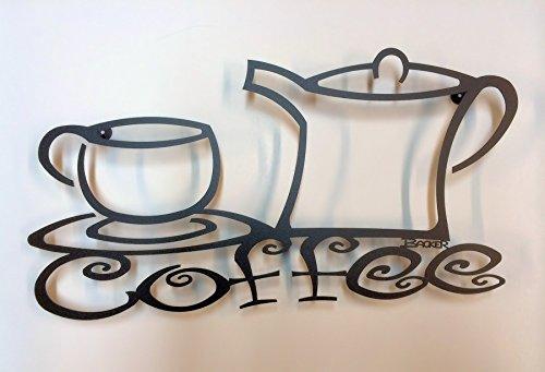 Coffee 3D Metal Wall Art