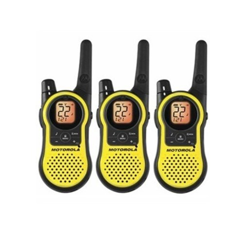 Sale!! Motorola MH230TPR Rechargeable Two Way Radio 3 Pack, FRS/GMRS