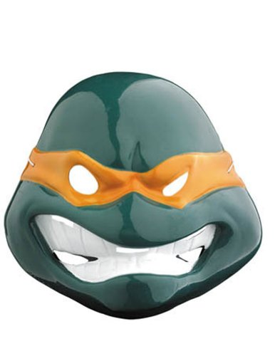 Scary-Masks Michelangelo Mask Vacuform Halloween Costume - Most Adults