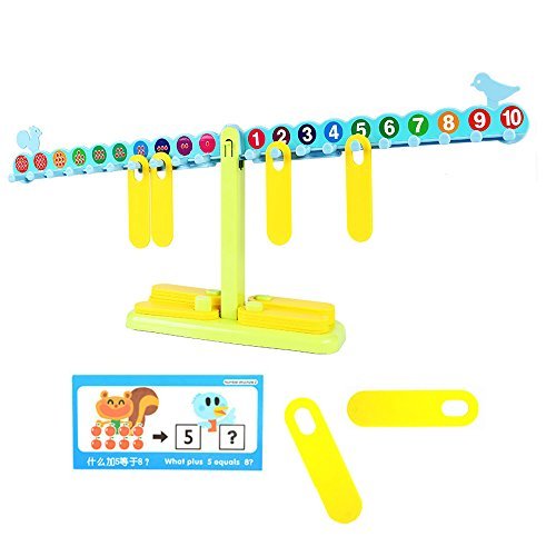 sainsmart-jr-t-shaped-math-number-balance-scale-20-10g-weights-with-learning-book-learning-cards-tes