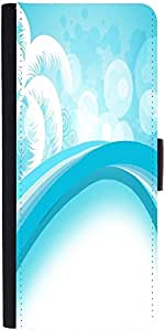 Snoogg Abstract Summer Background Designer Protective Phone Flip Case Cover For Samsung Galaxy J2
