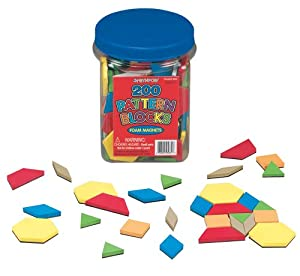 Foam Magnets - Pattern Blocks