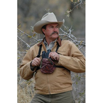 Crooked Horn Outfitters Bino Shield Binocular Covers, Mossy Oak, Medium