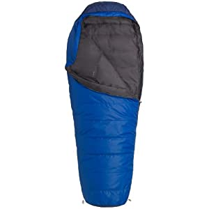 Marmot Rockaway 20 Synthetic Sleeping Bag, Regular-Right, Blue