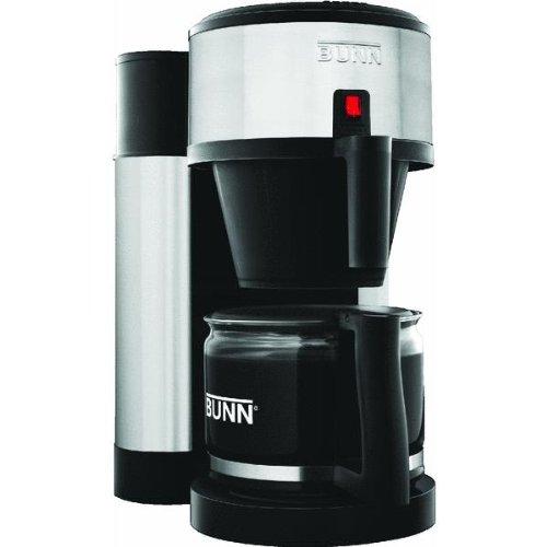 BUNN NHBB Velocity Brew 10-Cup Home Coffee Brewer, Black