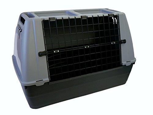 Trasportino cani Bracco 80 cane per auto box cuccia animali e gatti plastica