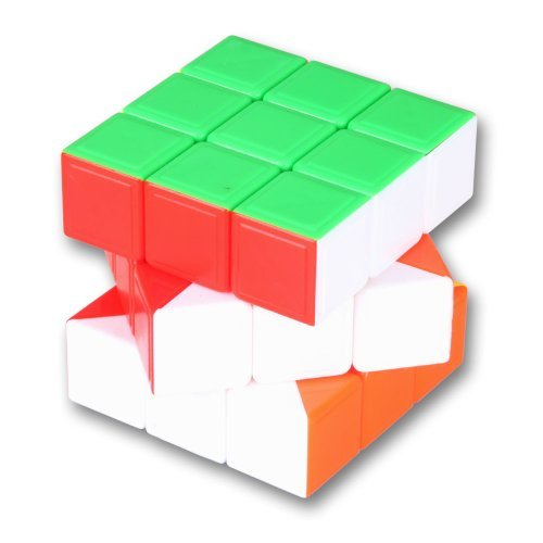 Diansheng 3x3x3 Speed Puzzle Magic Cube Black Stickerless