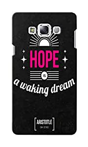 CimaCase Hope Designer 3D Printed Case Cover For Samsung Galaxy E7