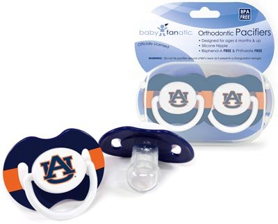PAC/AUBURN. AUBURN UNIVERSITY 2 PACK PACIFIERS at Amazon.com