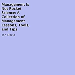 Management Is Not Rocket Science Audiobook