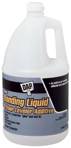 4 Pack Dap 35090 Bonding Liquid & Floor Leveler Additive - White Gallon